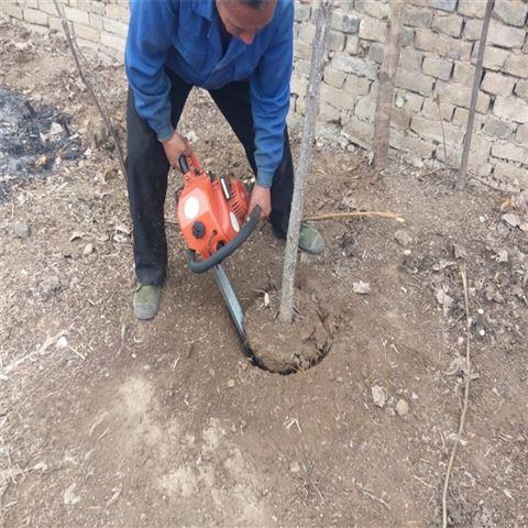 园林机械挖树机 土里有石头不怕起苗机