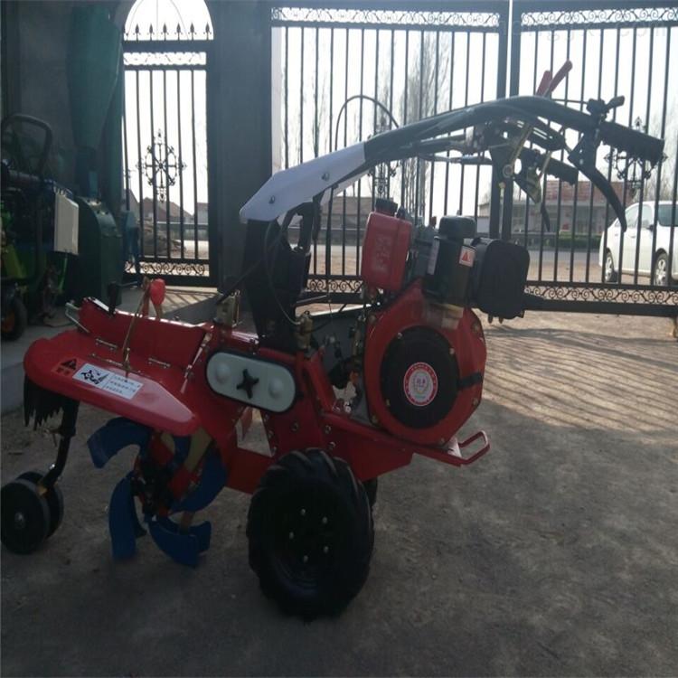 农作物种植培土机 全齿轮田园管理机
