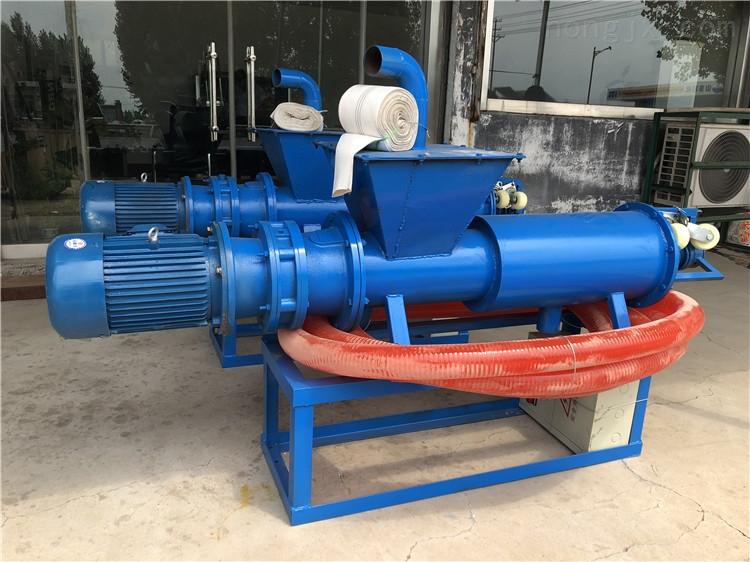 RF-FL-200-屎尿粪便挤干机 家禽粪便处理干湿分离机