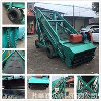 皮带传料的青贮取草车 5-7米的取料机图片