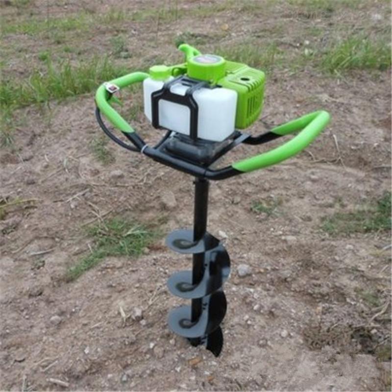 多功能植樹挖坑機 山地斜坡打坑機圖片