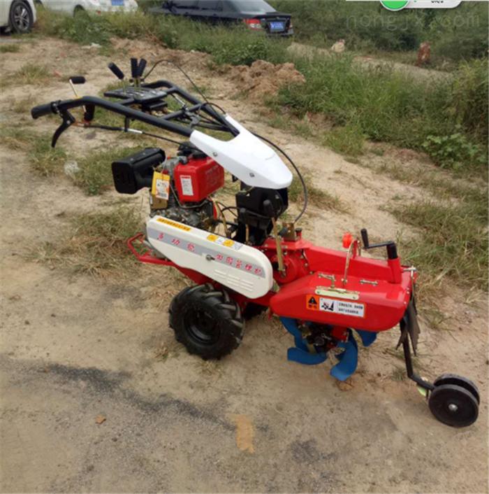 栽种大葱开沟培土机 全自动柴油开沟机