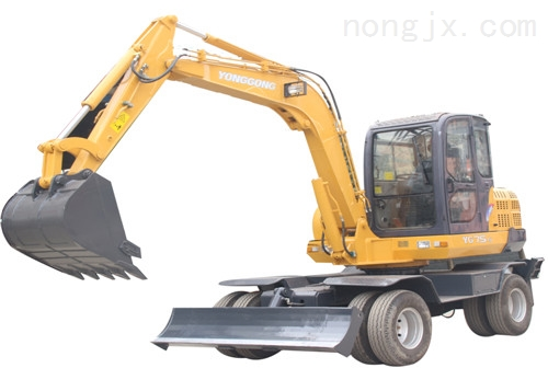 YG75-5轮式挖掘机