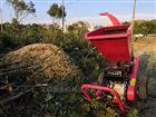汽油大型树枝粉碎机园林绿化柳树树木碎枝机