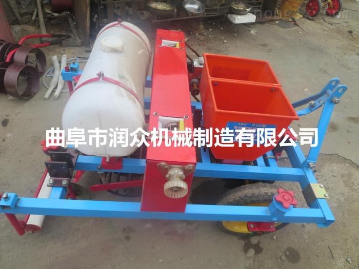 玉米专用施肥播种机 拖拉机带棉花种植机