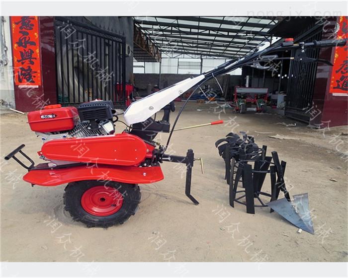柴油小型微耕机 多用途除草旋耕松土机