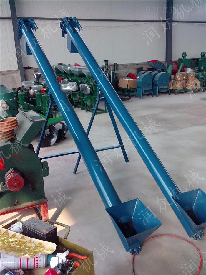 方便节能螺旋上料机 自动装料的玉米提升机