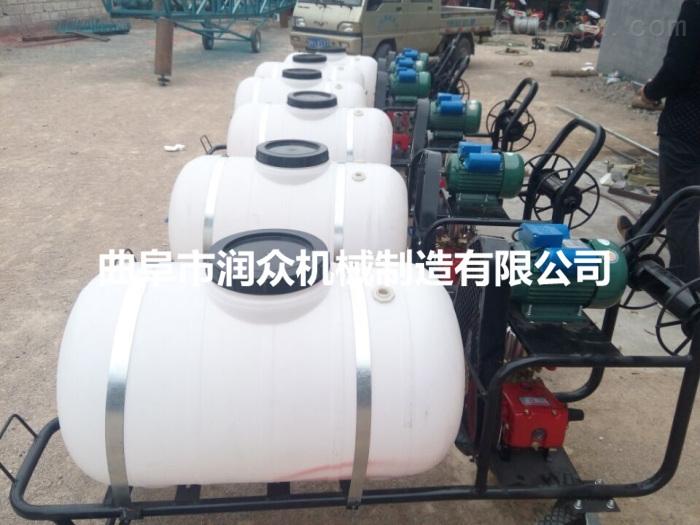 电动小型喷雾器 汽油自走式喷药机