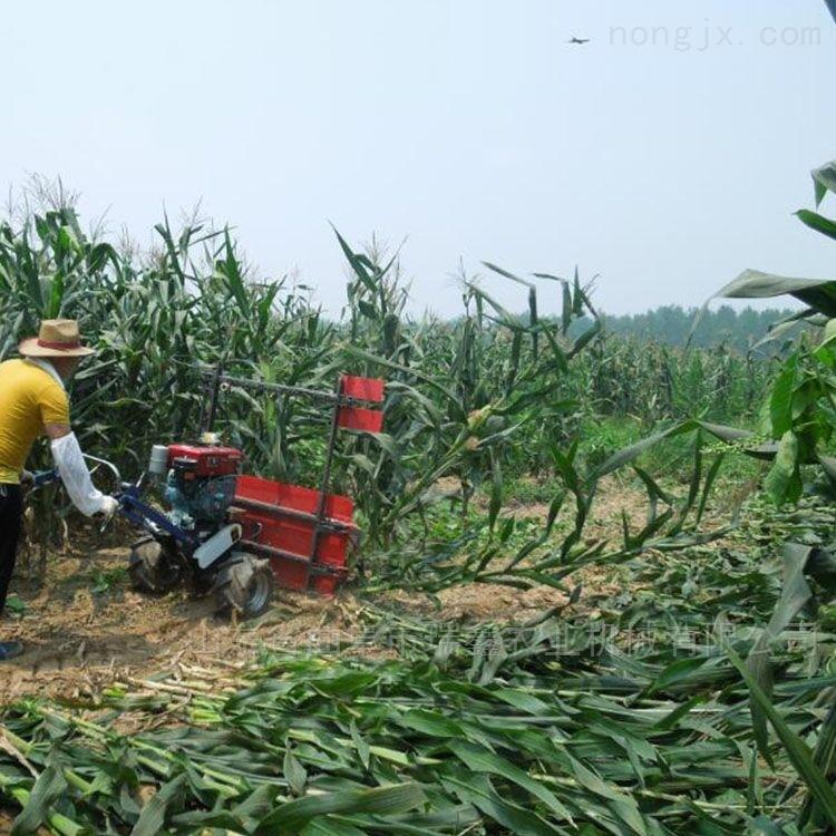 操作省力手提便携式割草机 玉米秸秆收割机
