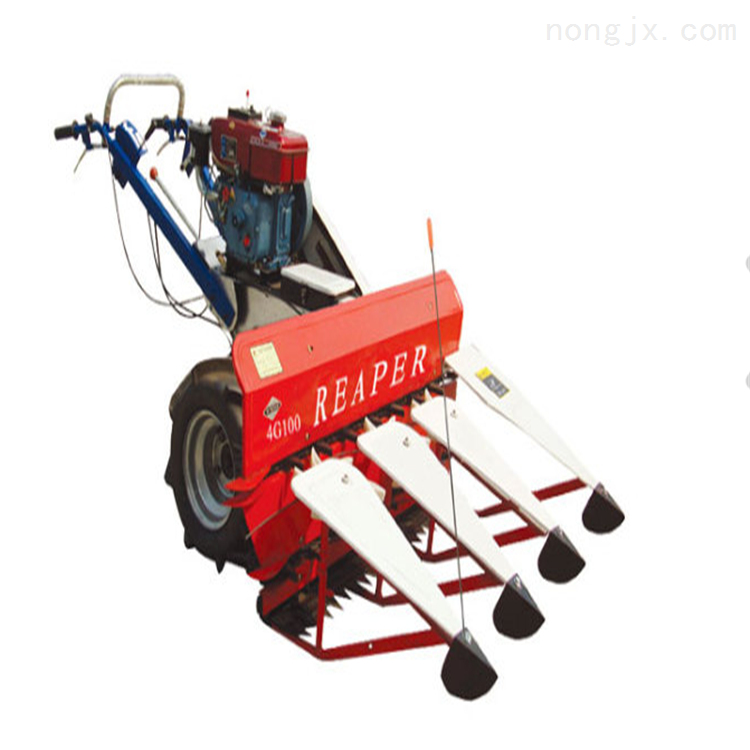 手扶式水稻小麦收割机 自动铺放式割晒机
