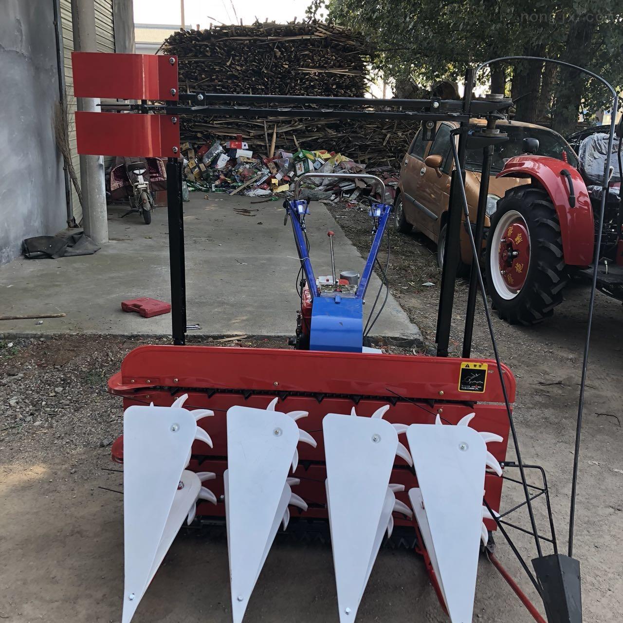 辣椒牧草用汽油機割曬機 80公分寬收割機