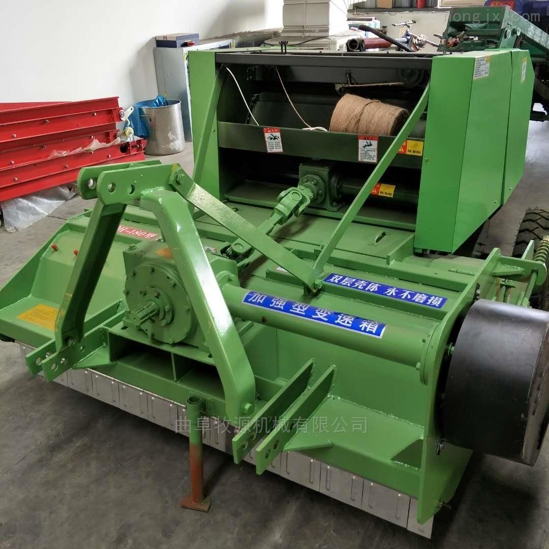 新型秸秆粉碎回收打捆机