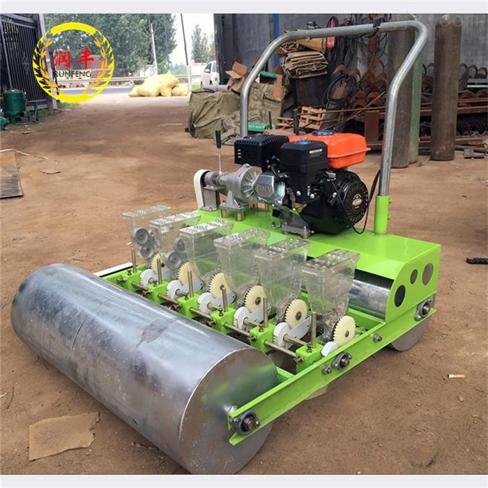 RH-BZJ-7.5-手推式六行大葱精播机 温室胡萝卜播种机