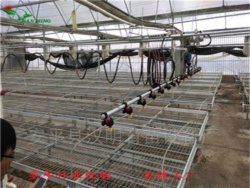 简述使用温室移动喷灌机浇灌施肥的好处