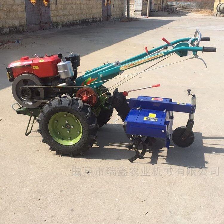 手扶式灭茬旋耕机 果园开沟施肥机