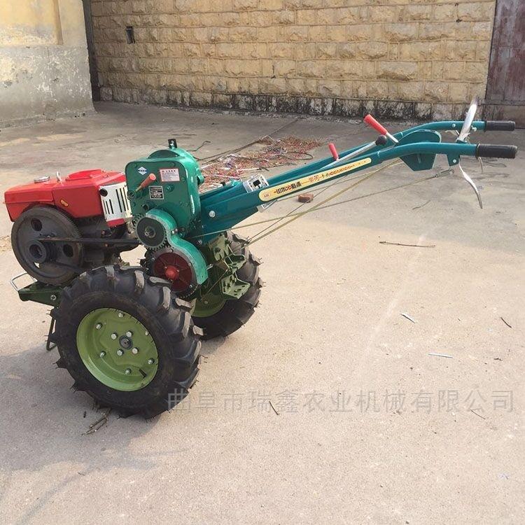 农用多功能拖拉机 手扶式柴油大马力旋耕机