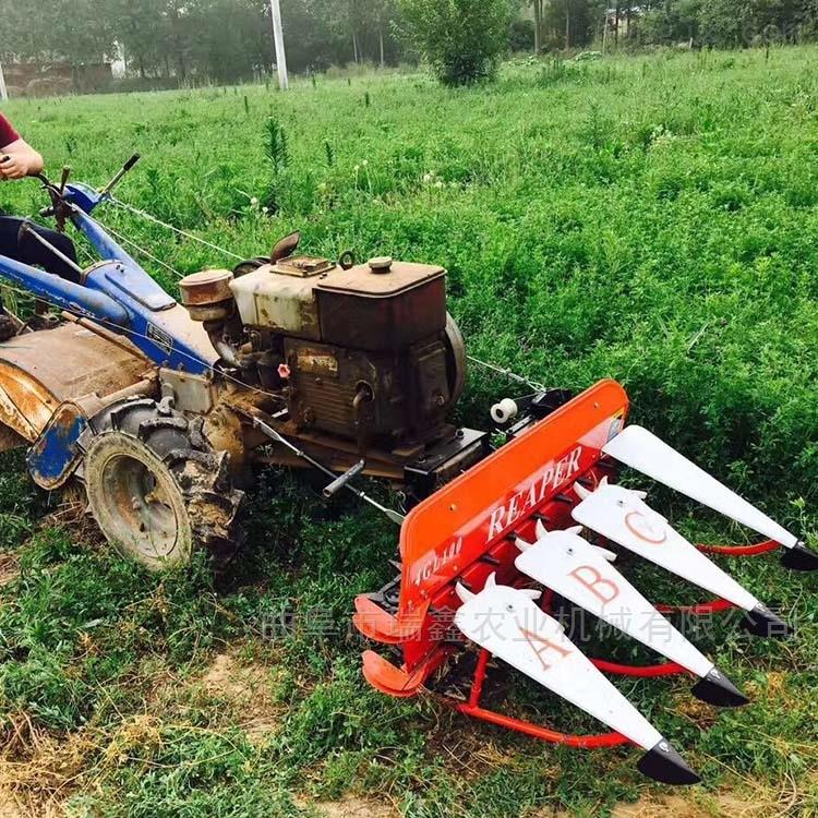 家用玉米高粱收割机 多功能牧草药材割倒机