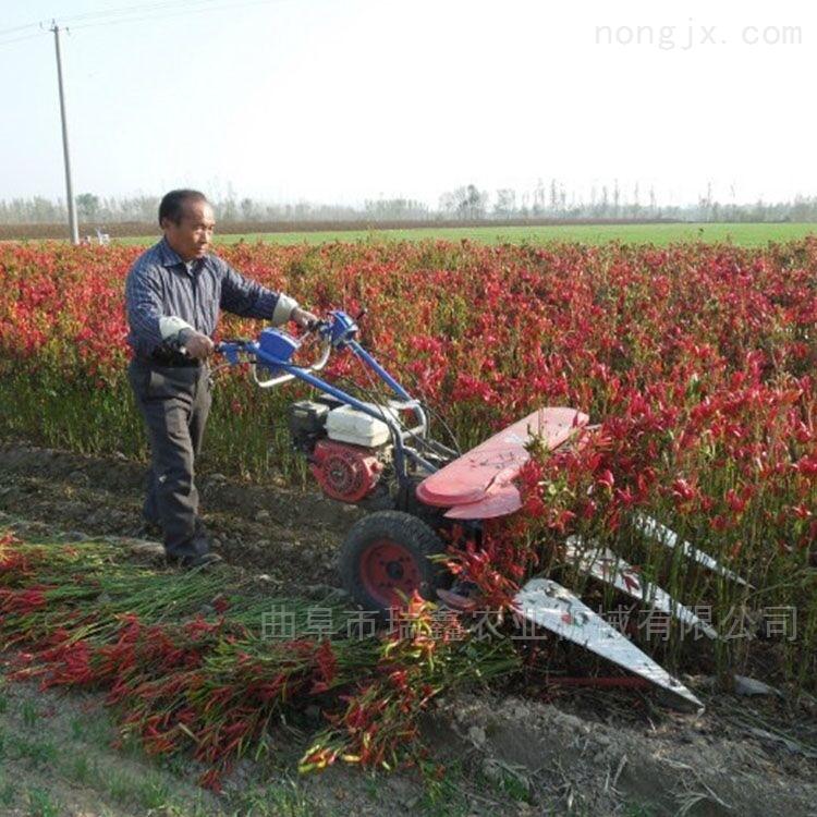 自走式汽油柴油割晒机芦苇甘蔗收割机