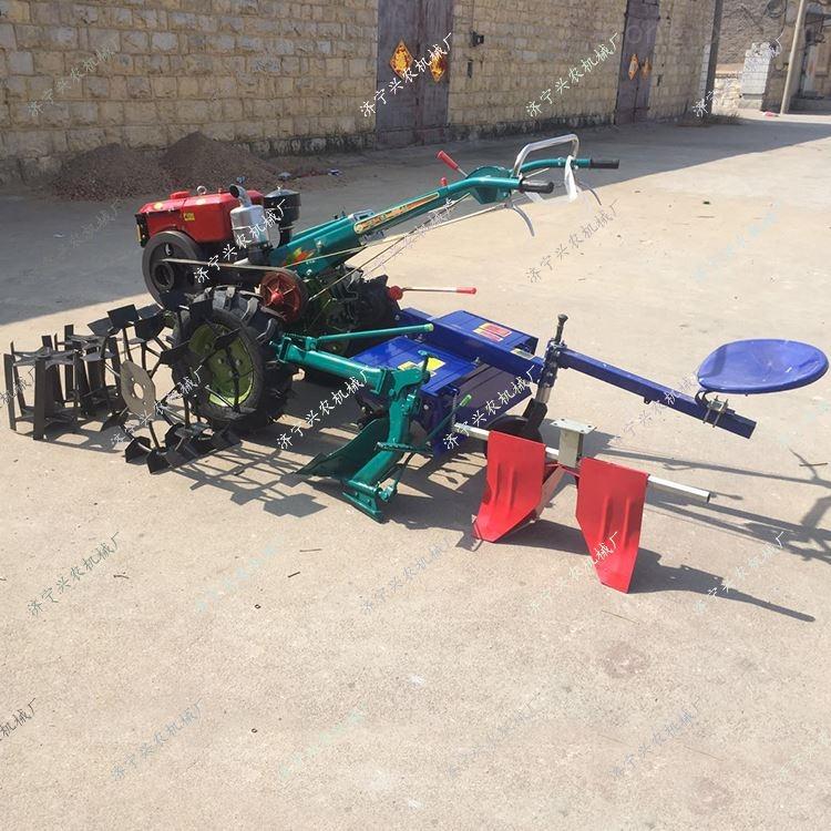 柴油旋耕手扶拖拉機 多功能大棚微耕機