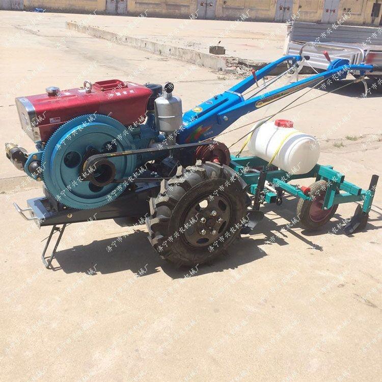 兩輪多功能拖拉機 小型開溝手扶旋耕機