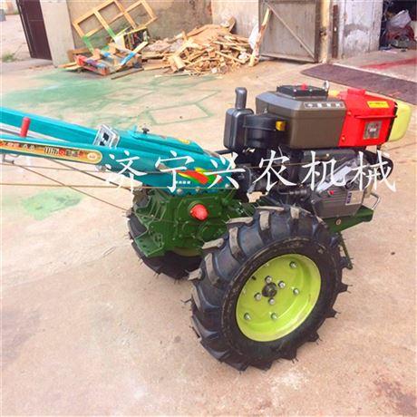 12马力柴油手扶拖拉机 动力足好操作