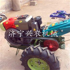 xnjx-10自带旋耕手扶拖拉机 柴油自走式开沟机