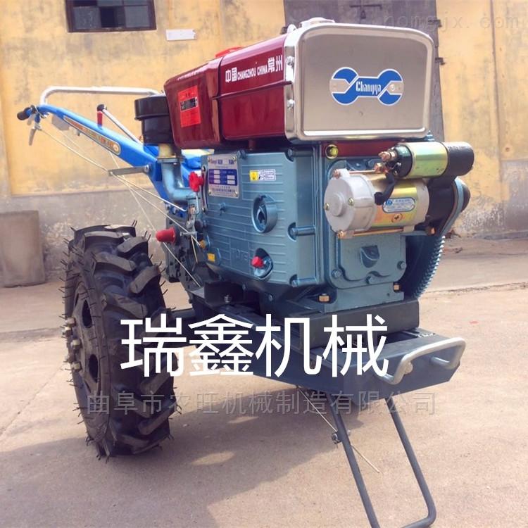 農用手扶旋耕機 柴油8馬力手扶式拖拉機