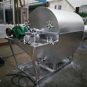 xnjx-30滚筒炒货机不锈钢内胆 立式电磁加热翻炒机