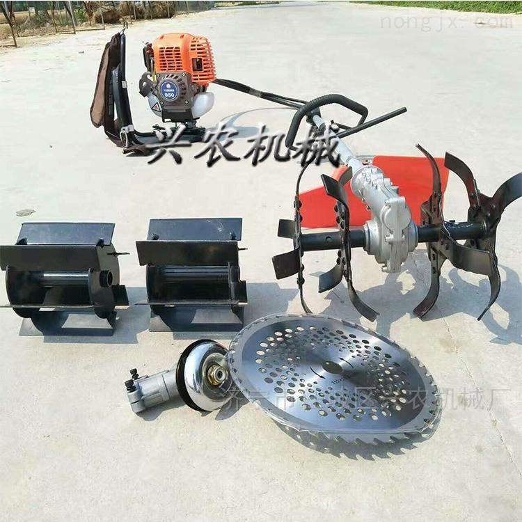寿县背负式汽油小型除草机