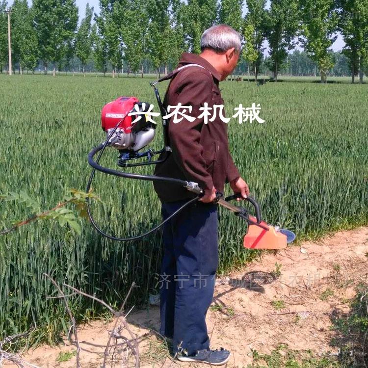 背负式本田割灌机 果园微耕开沟施肥机