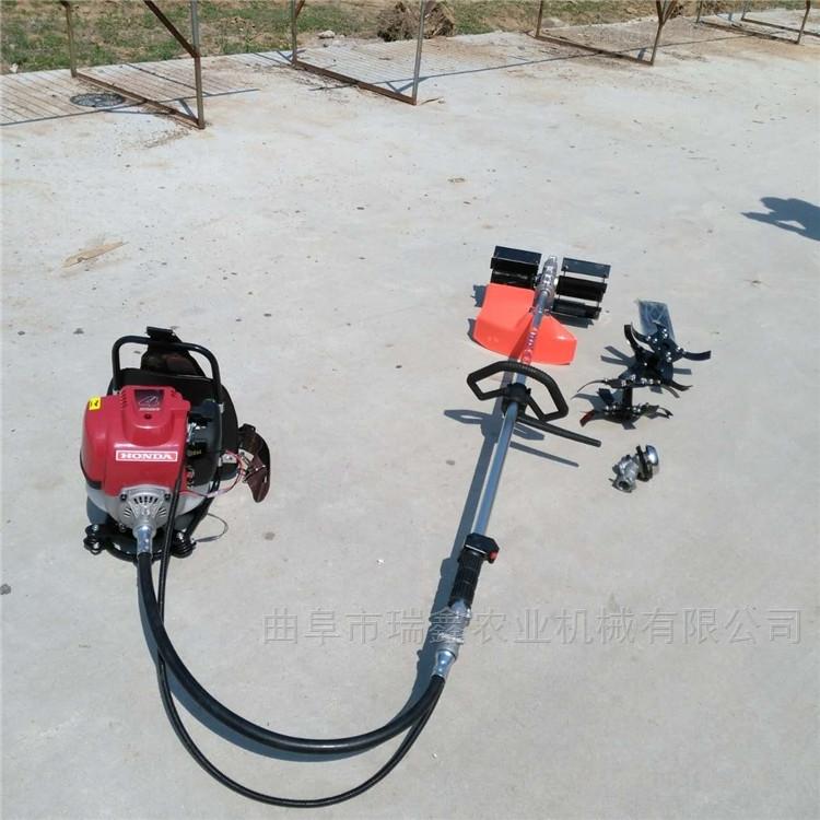 携带方便背负式汽油割草机