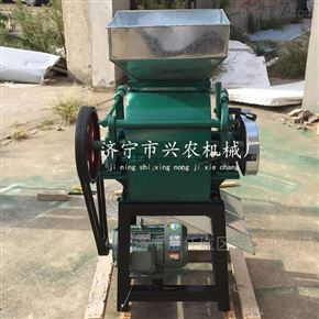 xnjx-02江苏小型豆子燕麦挤扁机