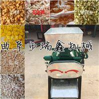 多功能拉丝对辊大豆小麦挤扁机