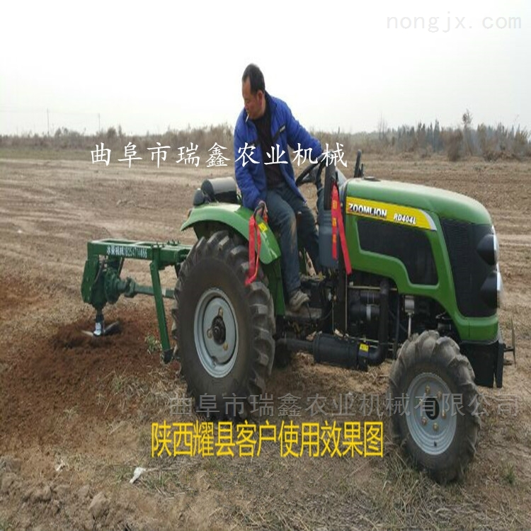 四輪拖拉機帶植樹挖坑機