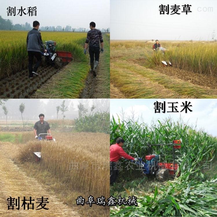新型快速牧草收割机