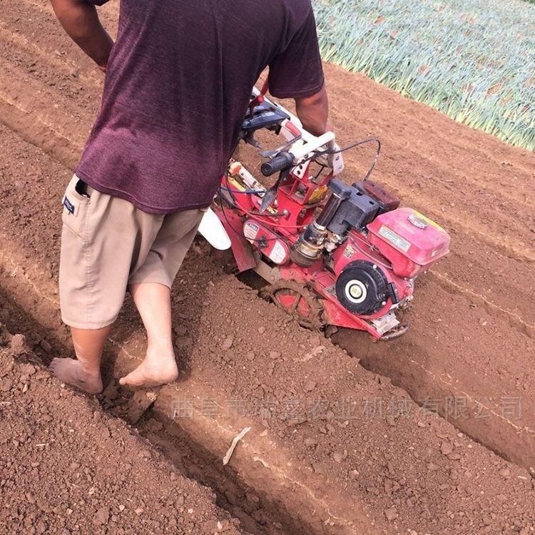 360度旋转手把开沟培土机 新款上土开沟机