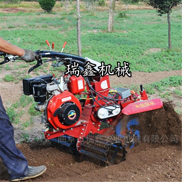 多功能大葱开沟培土机 大棚草莓起垄开沟机