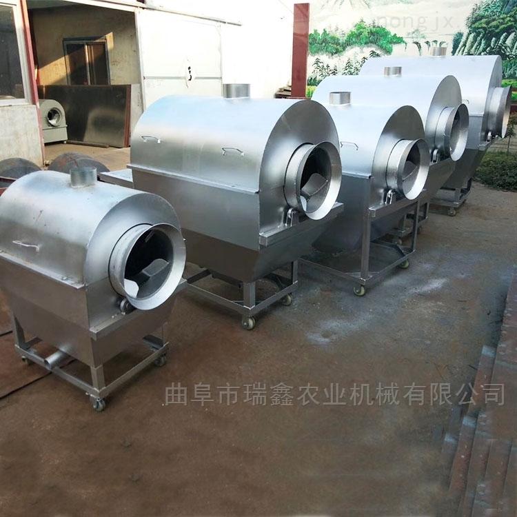 休闲食品加工机械 商用花生瓜子炒锅机