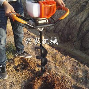 rxjx-2浙江菜园大棚围栏立柱打窝机