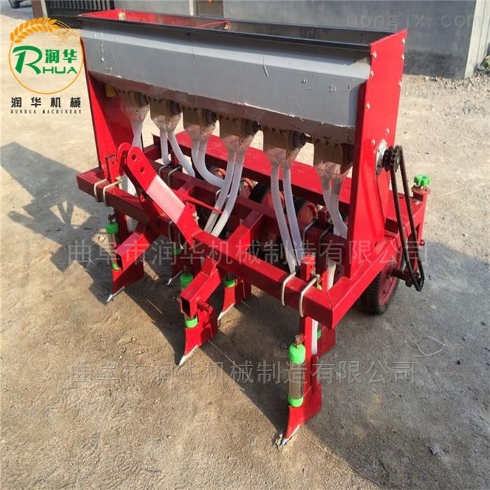 播种均匀的施肥精播机 手扶车带玉米播种机