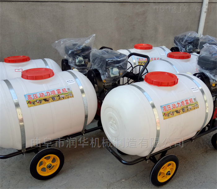 柴油机动力高压喷雾器 麦田自走式喷药机