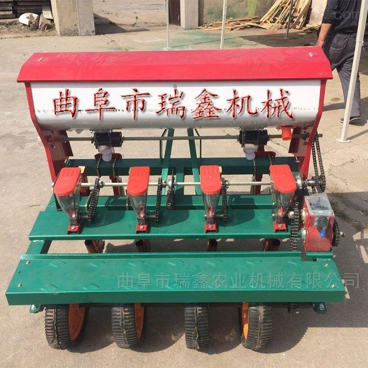 rxjx-bzj-新款油菜蔬菜精播机 免耕四轮玉米播种机