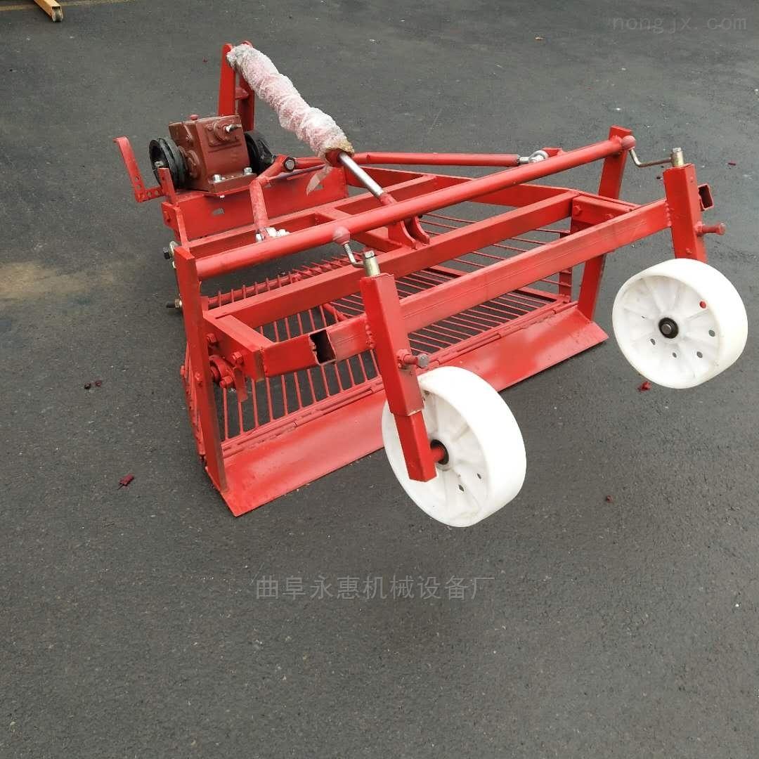 工厂直营四轮前置大蒜挖掘机农用大蒜收获机