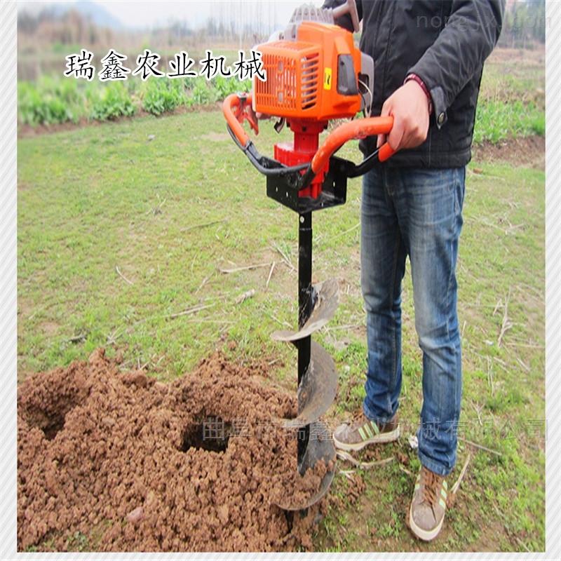 便捷式栽树挖坑机 篱笆打眼机价格
