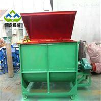 牛羊場飼料攪拌機 可以粉碎草料拌料機