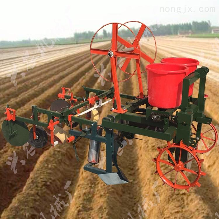 玉米覆膜播种机