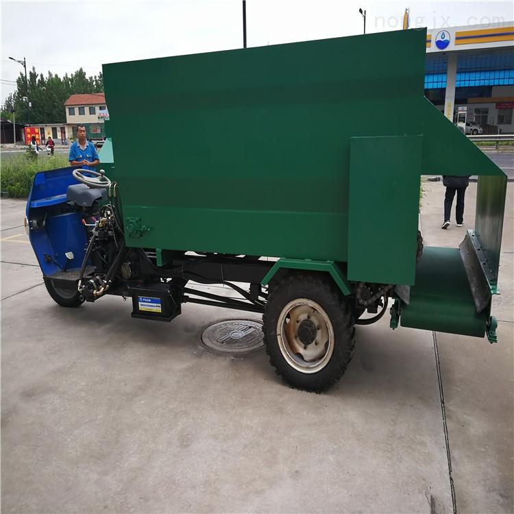 206軸承座喂料車 廣西牛撒料車 自走撒草機