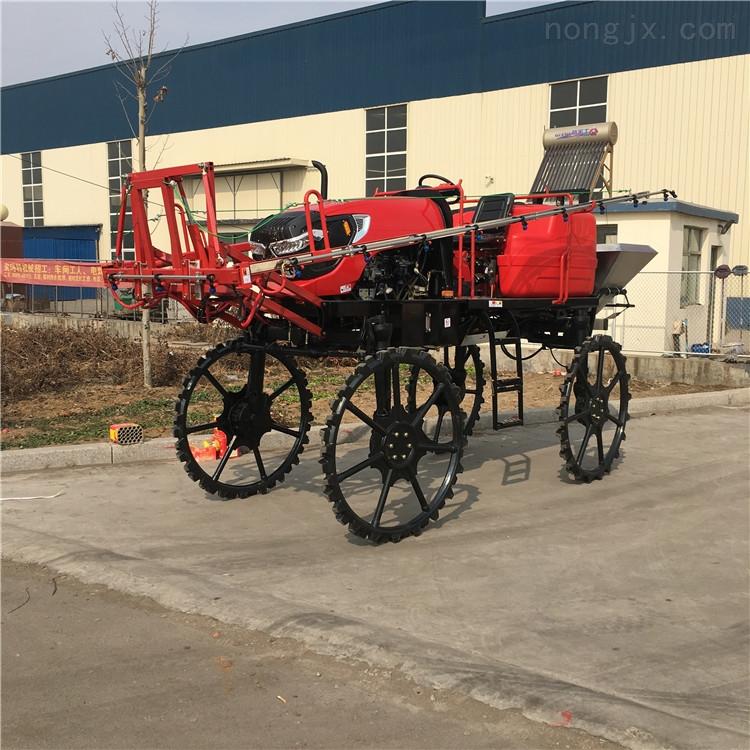 植保机械四轮打药机 自走式小麦喷药机