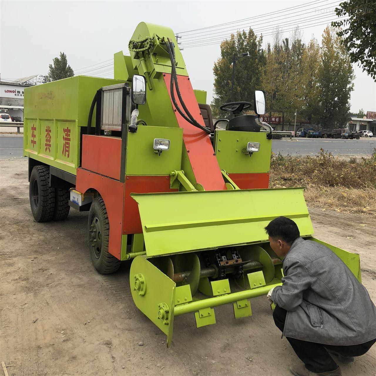 尚志柴油三轮清粪车 农用小型三轮铲粪车