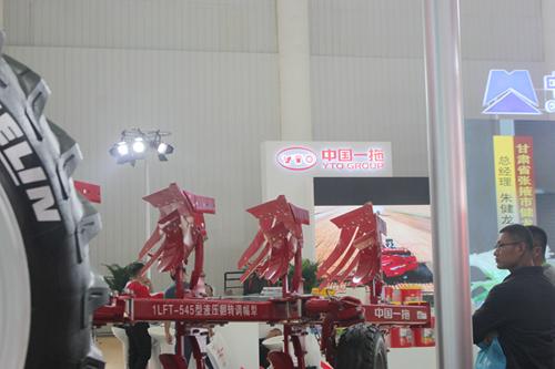 2018中国国际农机展:中国一拖无人驾驶亮相江城